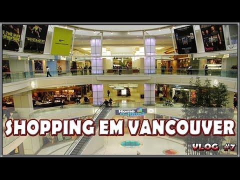 7º (vlog) Shopping em Vancouver  Sales, preços baixos, e gaita de fole.