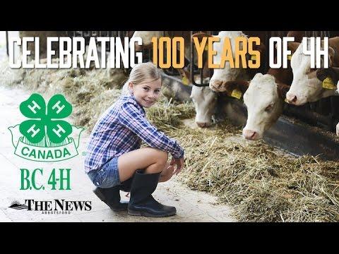 4-H. British Columbia, Canada Celebrates 100yrs