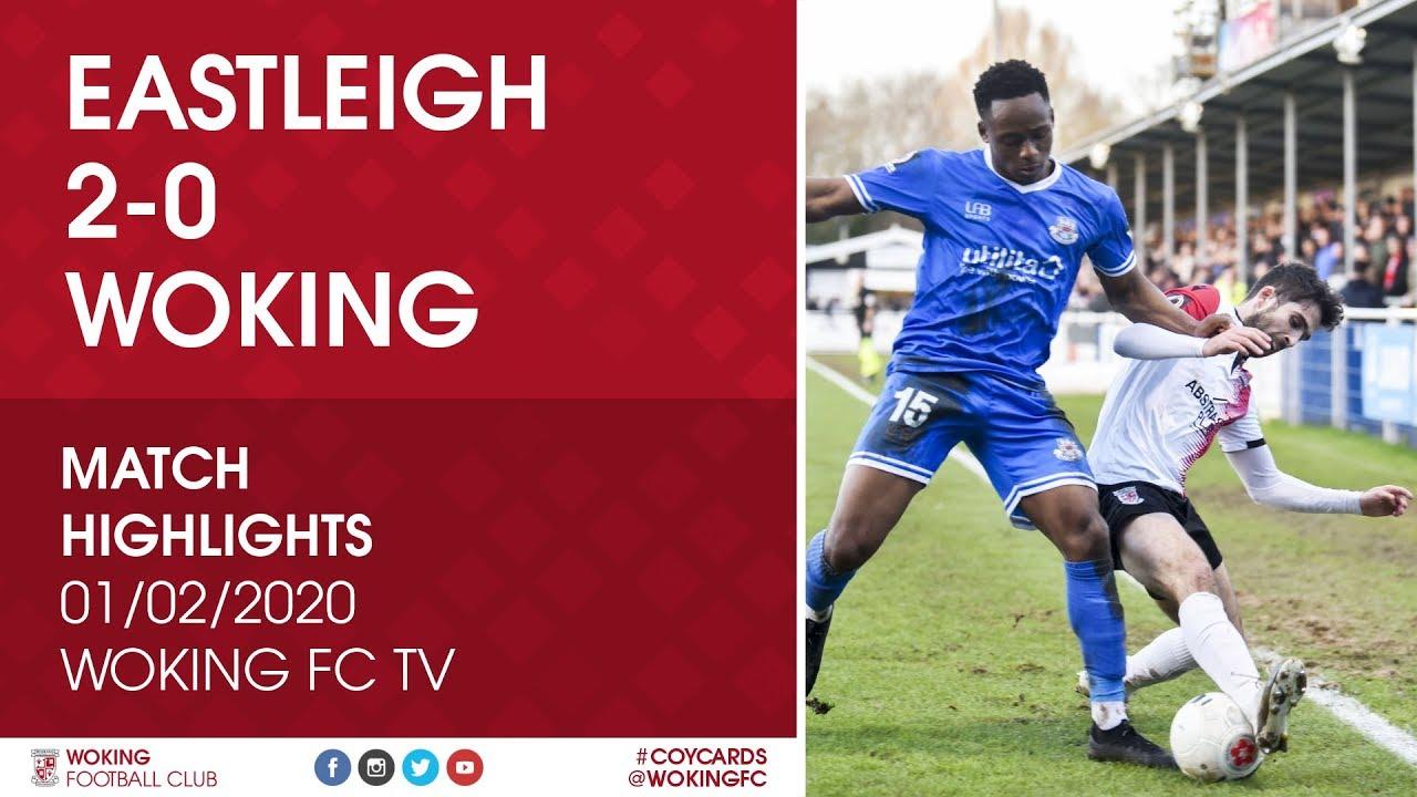 Eastleigh 2 - 0 Woking