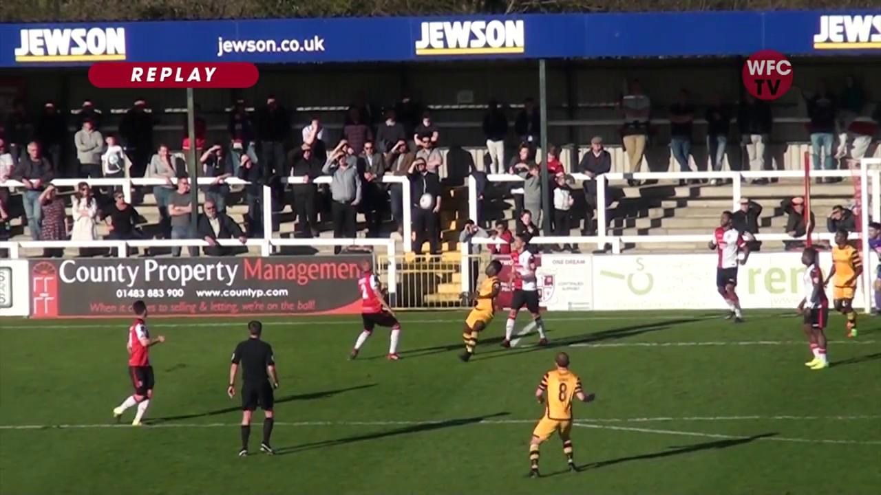 Woking 2 - 4 Maidstone United
