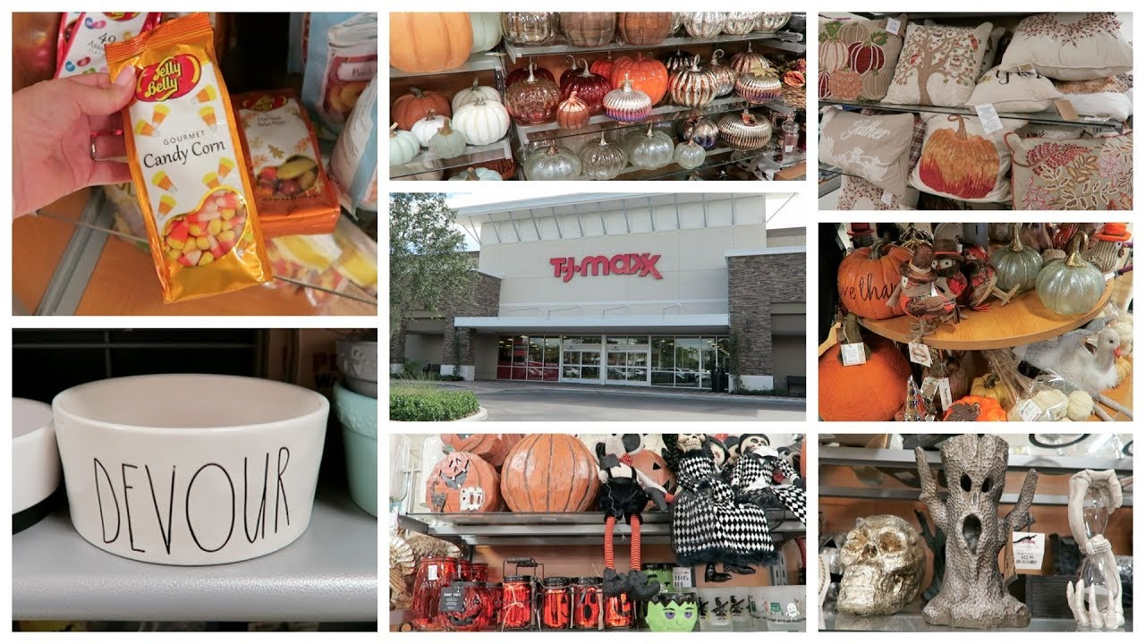 Shop With Me   TJ Maxx   Fall Decor & More