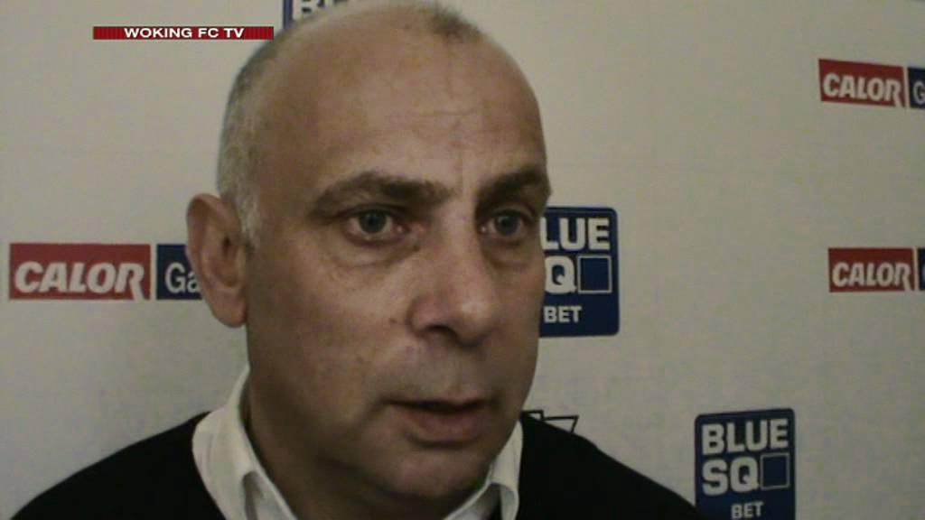 Woking 3-3 Truro City (Garry Hill Interview)