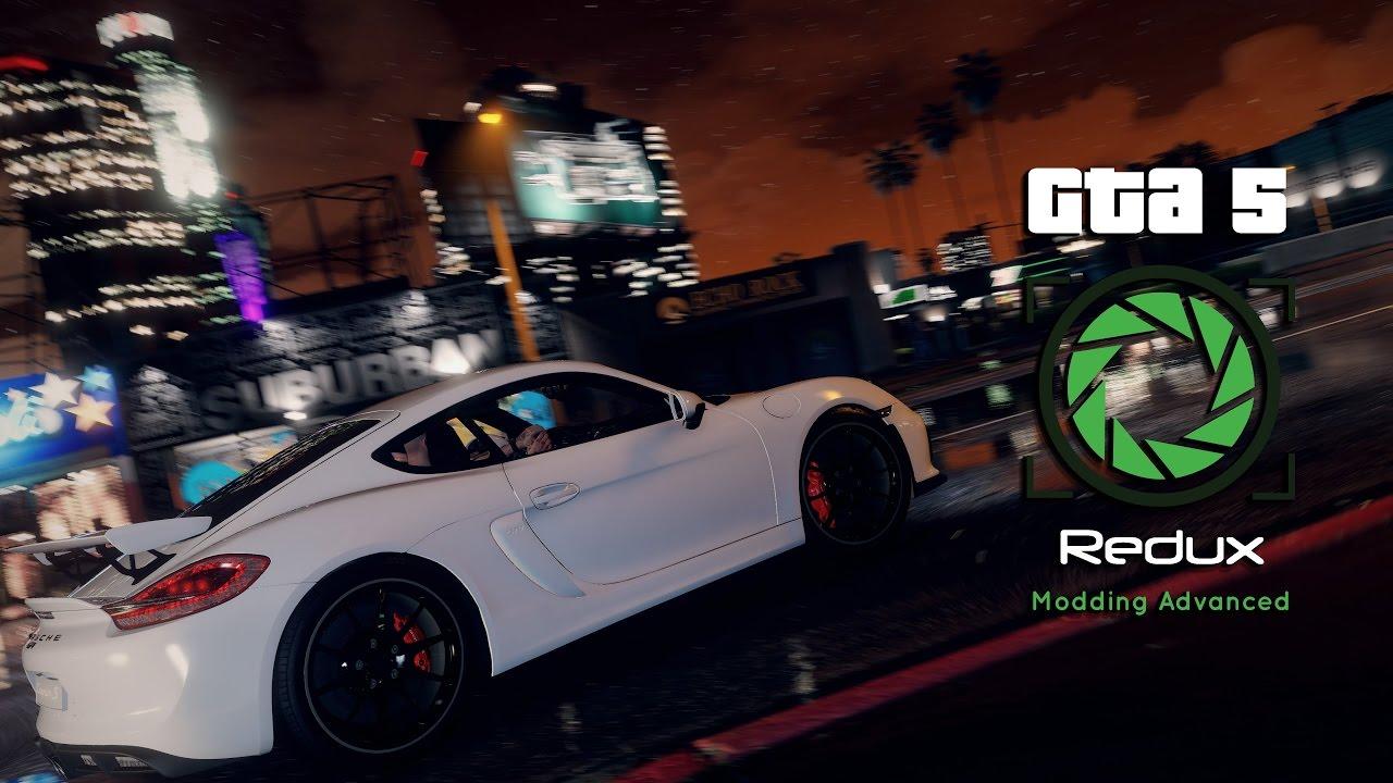 GTA 5 Redux Error/crash fix