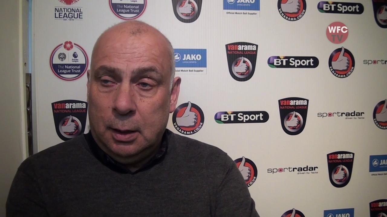 Woking 2 - 4 Maidstone United (Garry Hill Interview)