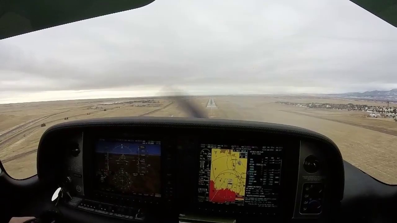 Short IFR Flight OVC900 ILS Appr in Cirrus SR22T