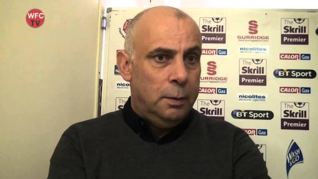 Woking 2 - 0 Southport (Garry Hill Interview)