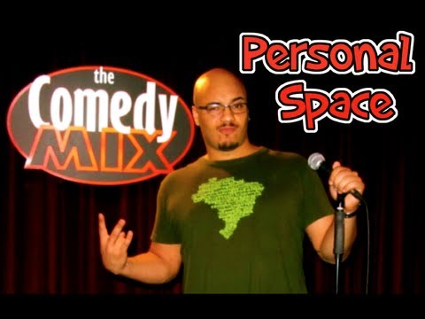 PERSONAL SPACE - The Funny Brazilian at The Comedy Mix