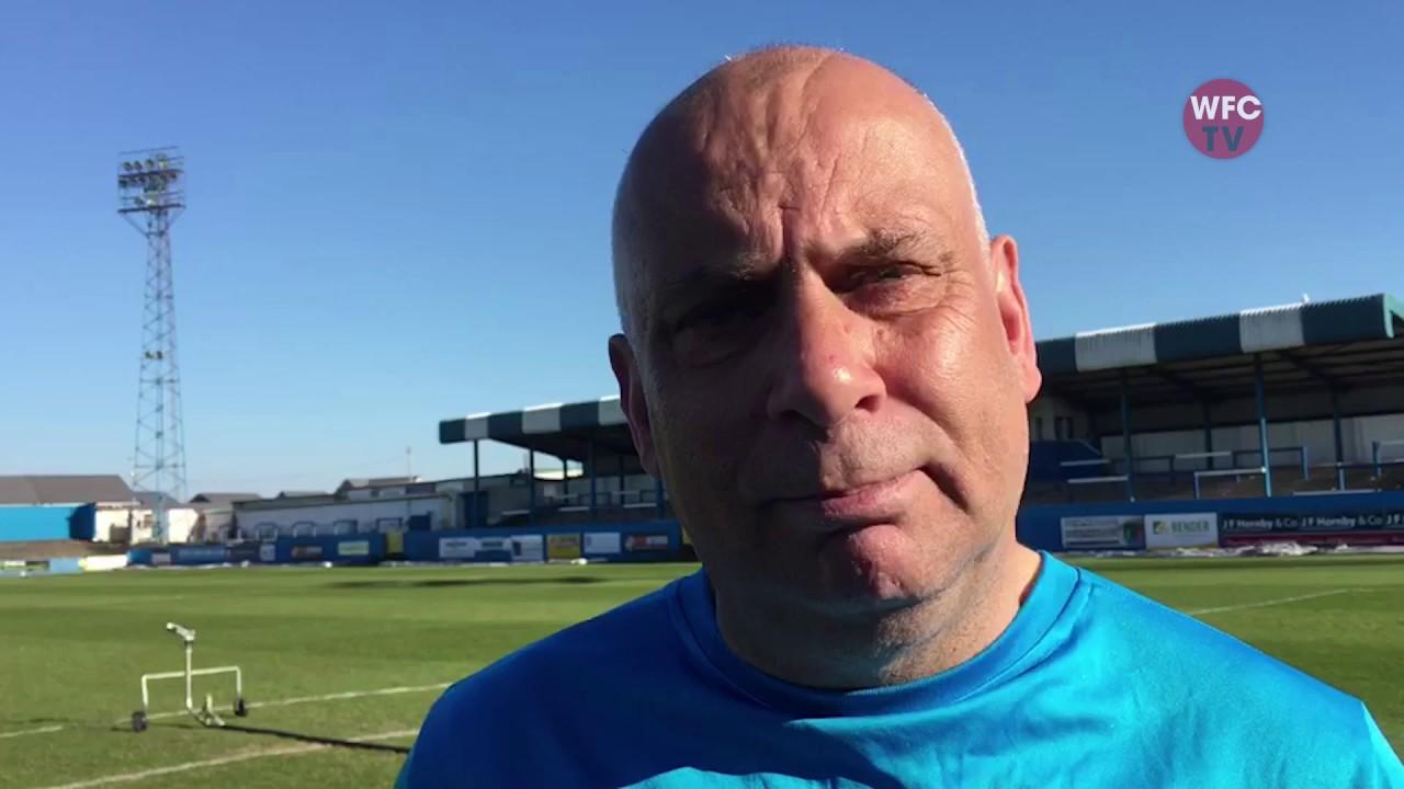 Barrow 2 - 2 Woking (Garry Hill Interview)