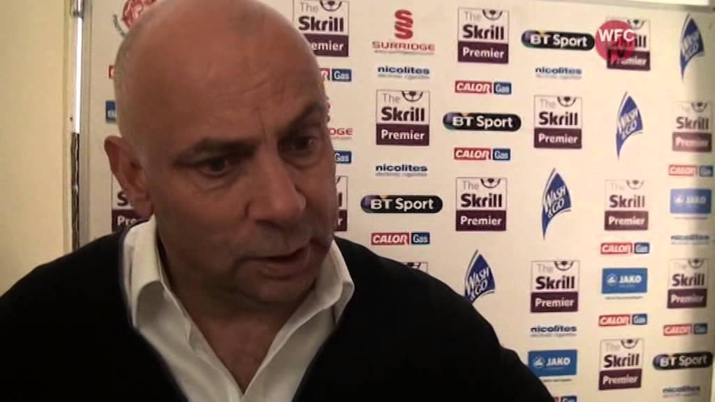 Woking 2 - 1 Alfreton Town (Garry Hill Interview)