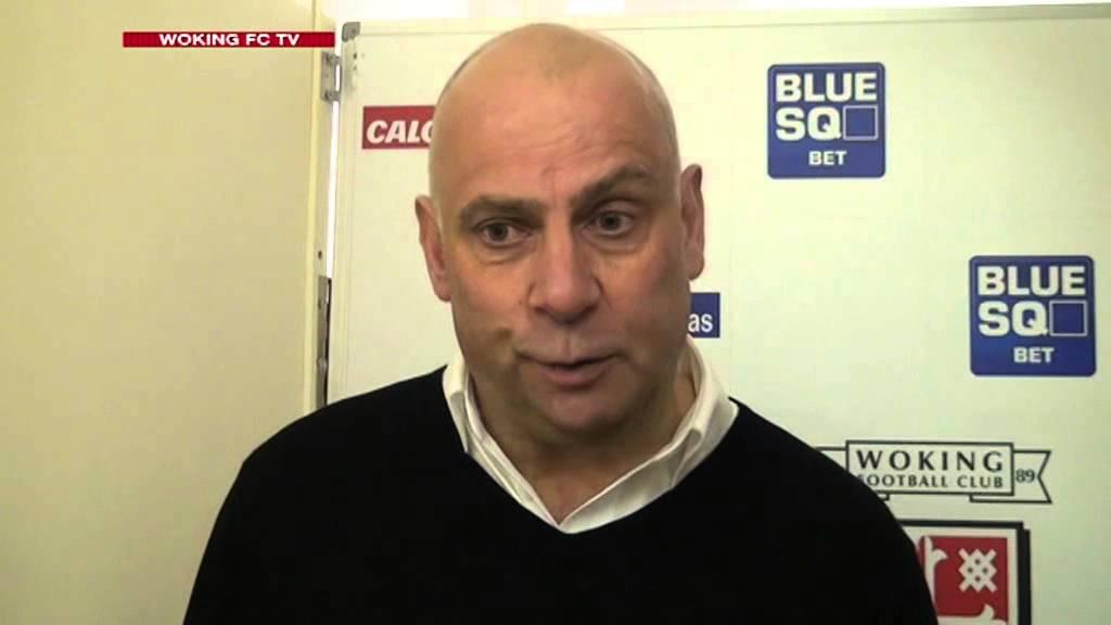 Woking 5 - 4 Macclesfield Town (Garry Hill Interview)