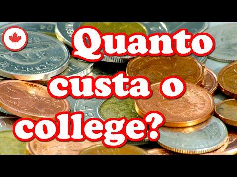 Quanto custa um college no Canadá?