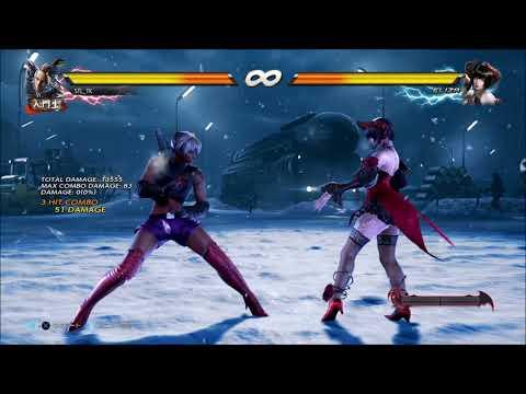 Tekken 7 Master Raven d/f+3(CH) Combos | PS4