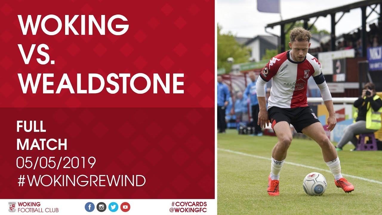 Woking 3 - 2 Wealdstone   Full Match