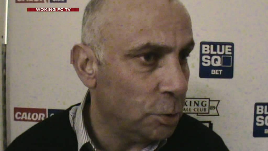 Woking 5-1 Thurrock (Garry Hill Interview)