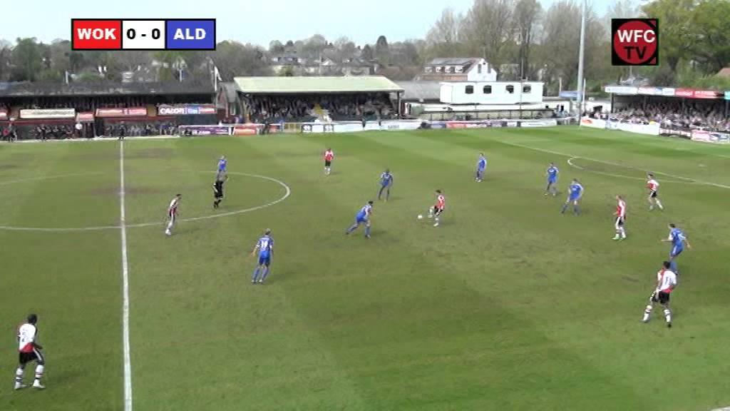 Woking 1-2 Aldershot Town