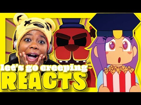 Let's Go Creeping | FNAF Animated Music Video | iHasCupquake Reaction | AyChristene Reacts