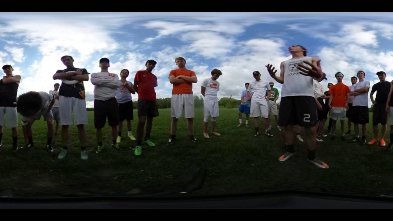 Mizzou Ultimate Frisbee -- Aerial Athletes in VR