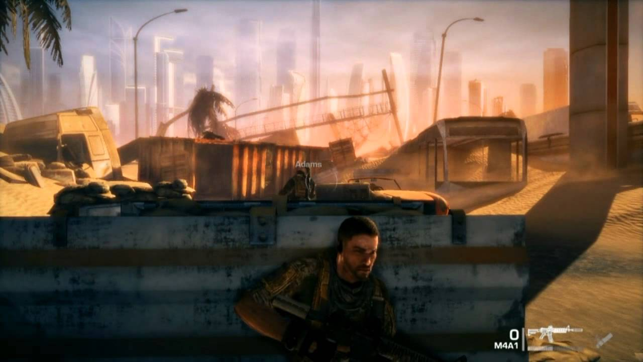 Lets Play:Spec Ops:The Line Episode 1PT1(By dima0301)