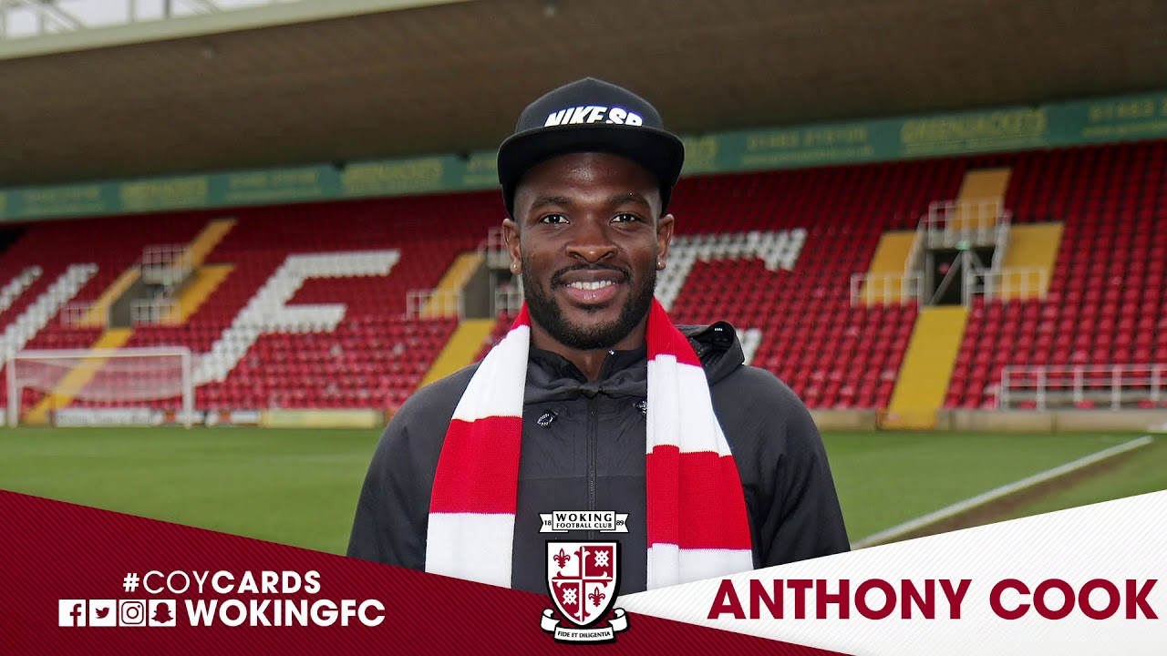 Guiseley AFC 1 - 2 Woking (Anthony Cook Interview)