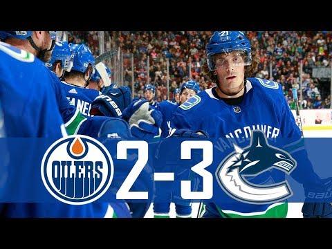 Canucks vs Oilers   Pre Season   Highlights (Sept. 30, 2017) [HD]