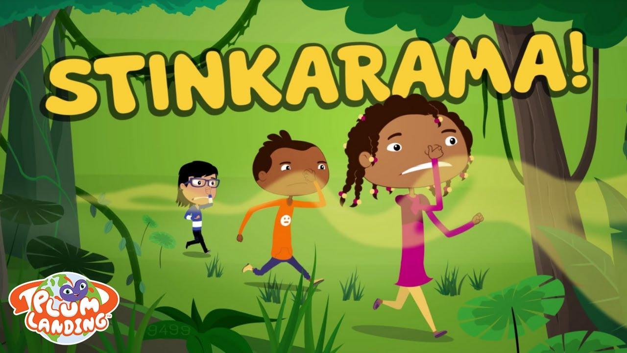 Stinkarama! - Jungle 3 | PLUM LANDING on PBS KIDS