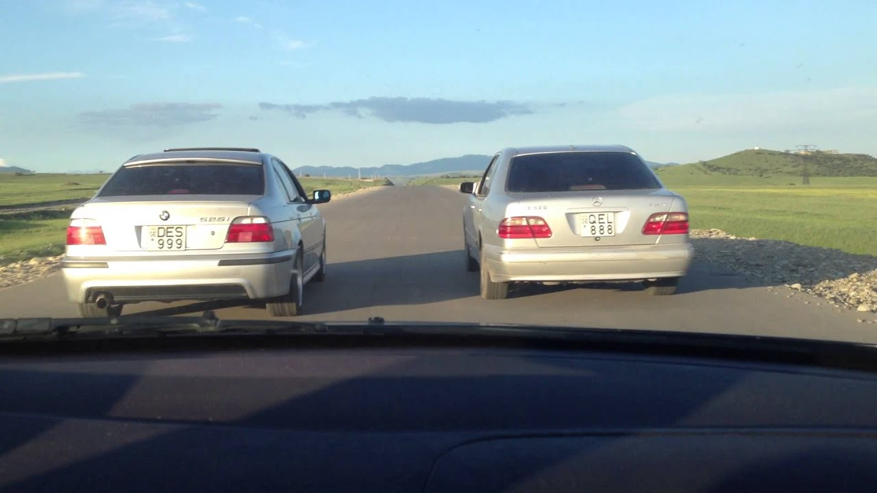 mercedes E320 4Matic vs BMW 525i automatic