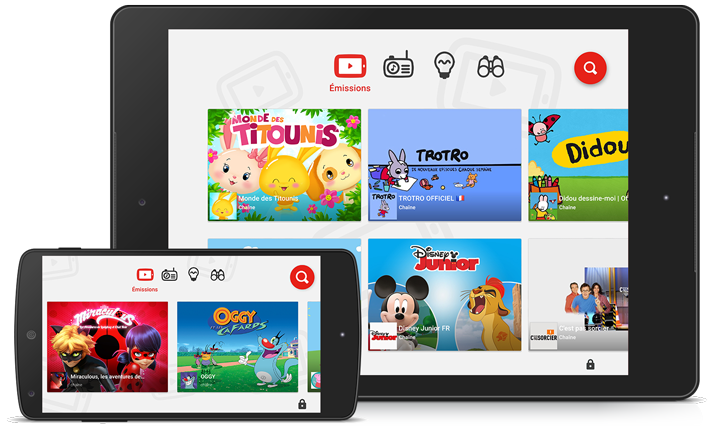 Youtube Kids par Google